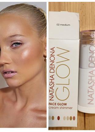Хайлайтер для лица и тела natasha denona face glow