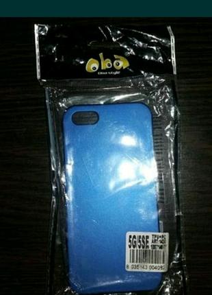 Чехол с защитным стеклом айфон 5s