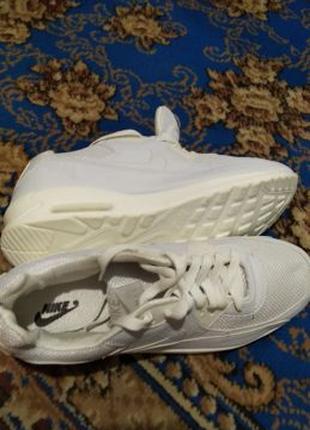 Кросовки NIKE Air Max 90 essential white