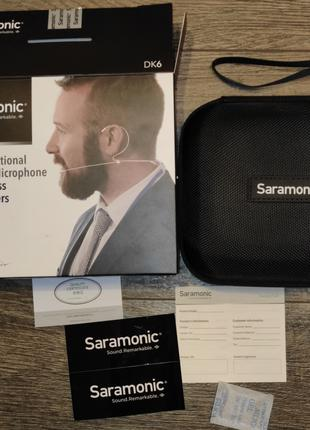 Петличный микрофон Saramonic DK6A
