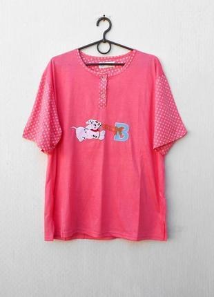 Хлопковая трикотажная пижама для сна и дома шорты + футболка 🌿