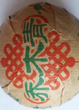 Пуэр Туо Ча Шен 250г (зеленый) 2010г.