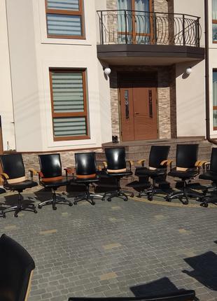 Кресло кожаное офисное SITAG, шкіряне офісне крісло