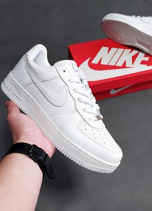 Мужские кроссовки nike air force белы