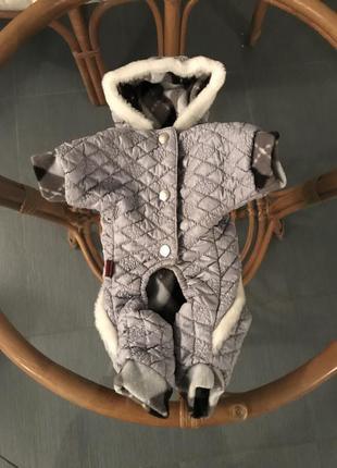 Одежда теплая для собак маленьких чихуахуа зимняя