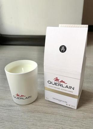 Новая ароматическая свеча mon guerlain scented candle свечка н...