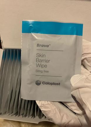 Серветки для захисту шкіри Coloplast Brava 30 шт
