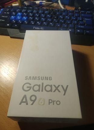 Samsung Galaxy A9 pro SM-A9100 Коробка + блок + наушники ( Ориг )