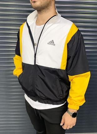 Мужская ветровка популярного бренда мужская одежда осень весна