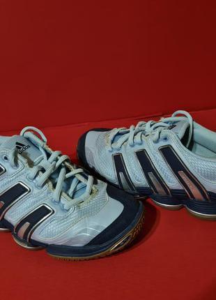 Adidas stabil 7 36р. 23см кроссовки гандбол, теннис, волейбол