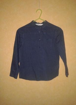 Рубашка h&m 7-8 лет