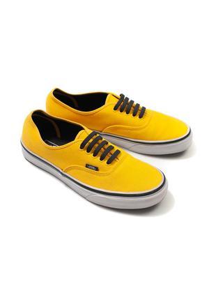 Vans yellow sneakers оригинальная обувь fmh010682