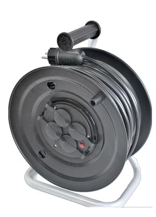 Электрический удлинитель на катушке ПВС 3х2,5мм 20м