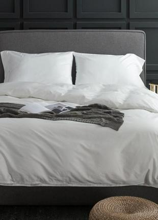 """Элитное постельное белье, Комплект """"White"""",100% хлопок,сатин люкс"""