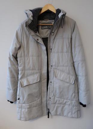 Lole (франция) зимняя теплая на мороз тепла зимова куртка