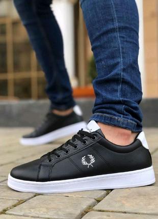 Мужская Обувь Перри Черно-Белый