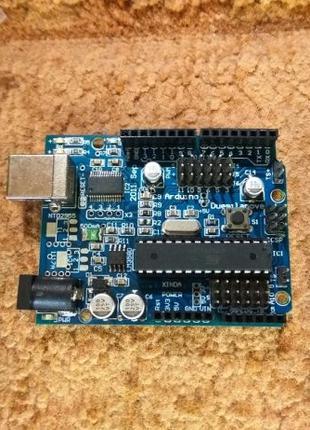 Arduino Uno Rev3 ATmega328P ( Ардуино уно ) плата, микроконтро...