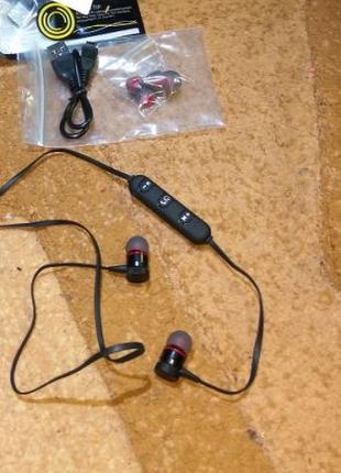 Беспроводные блютуз наушники гарнитура PBP-011 Bluetooth 4.2
