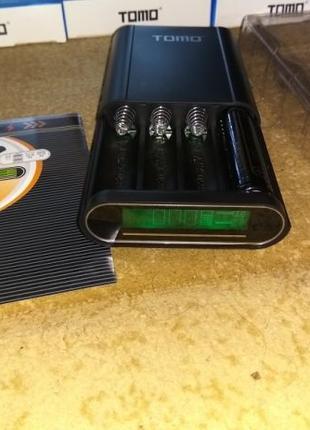 Универсальное зарядное устройство TOMO T4 4x18650 Power Bank О...