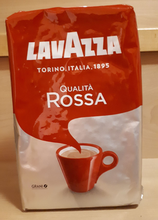 Lavazza Qualita Rossa 1 кг зерно