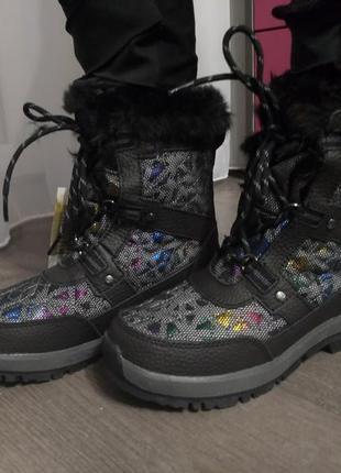 Термо ботинки сапоги bearpaw