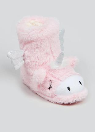 Тапочки unicorn единорог