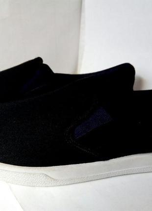 Мужские кеды, мокасины кроссовки, текстильные, летняя обувь