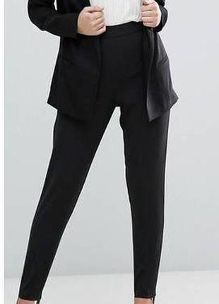 Шикарные стильные трендовые модные черные зауженные брюки new ...