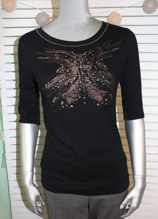 Черные реглан футболка marc cain
