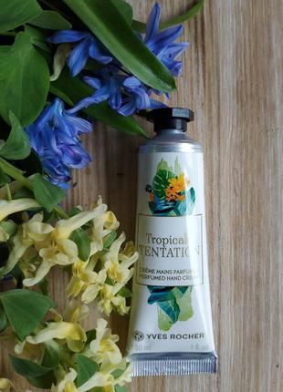 Парфюмированный крем для рук tropicale tentation экзотика троп...