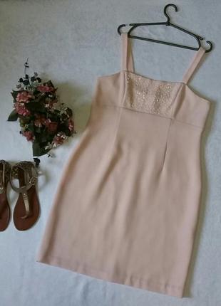 Нарядное платье расшито бисером 16---50 размер.