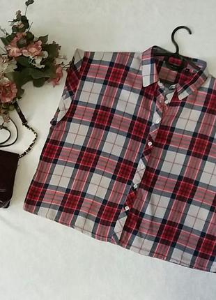 Укороченная рубашка new look 16----50 размер.