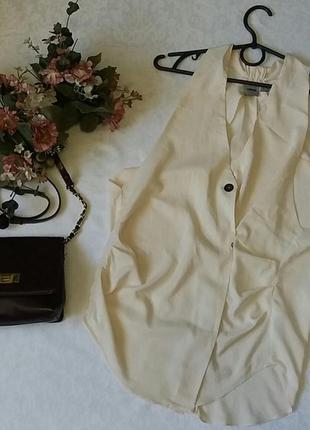 Блузка asos необычный крой 8---42 размер.