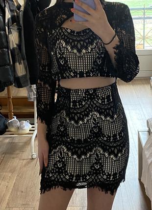 юбка + топ (костюм)