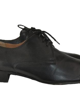 Кожаные мужские туфли от manz