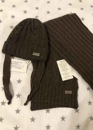 Набор шапка и шарф италия