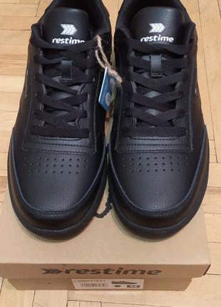 Кроссовки кожаные мужские RESTIME 44 размер