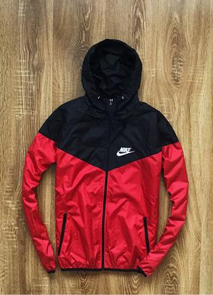 Куртка Весенняя Nike windrunner Весна Мужская Ветровка найк чолов