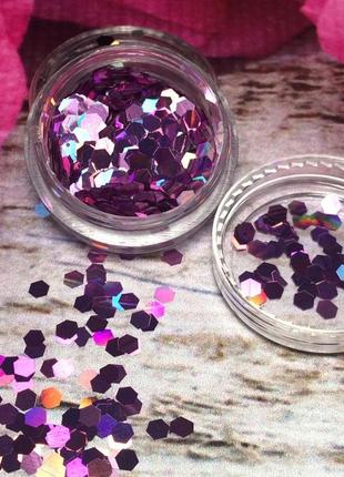 Разноцветные соты для дизайна, декора ногтей, маникюра