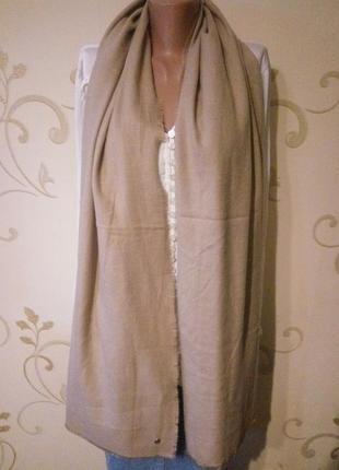 Esprit . большой мягкий шарф шаль палантин . 195 х 80