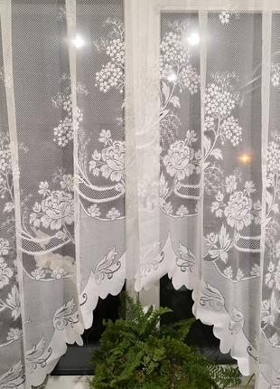 Занавеска штора тюль арка капрон
