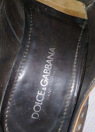 Взуття Броги Dolce& Gabbana