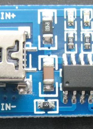 TP4056 модуль зарядки Li-ion аккумуляторів miniUSB (2 штуки)