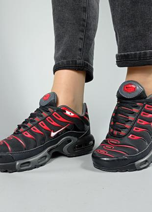 "Кроссовки Nike Air Max Tn Plus ""Black/Red""(ОРИГИНАЛ),унисекс"