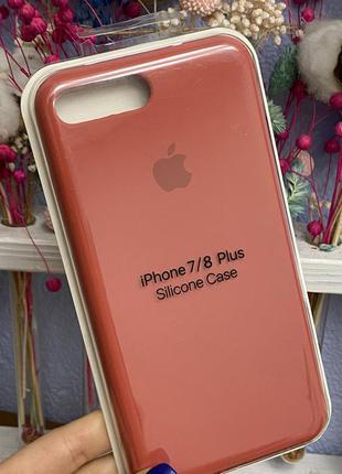 Силиконовый чехол silicone case iphone 7plus / 8plus