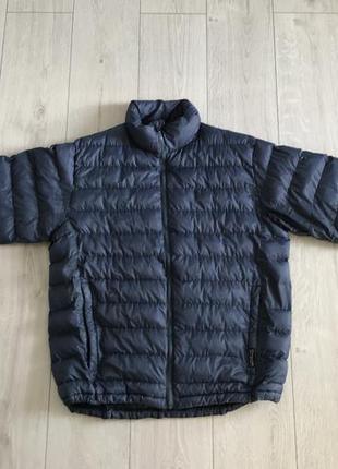 Демисезонная мужская куртка, легкая мужская куртка, синяя куртка.