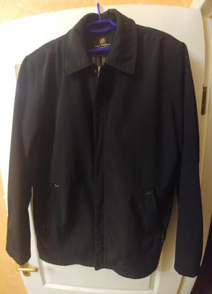Мужская черная куртка пиджак на 54-56-58