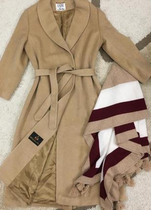 Пальто из верблюжьей шерсти, италия