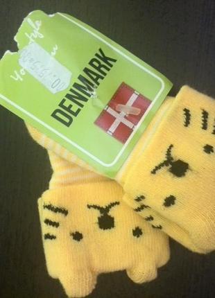 Denmark детские носки 2 пары Новые!