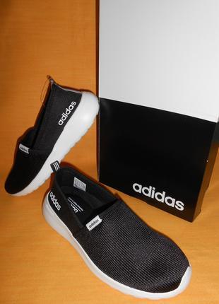 Слипоны adidas оригинал размер us 7.5 стелька 24.5 см
